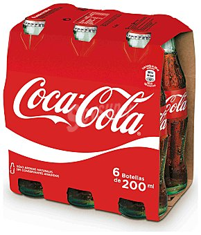 Coca-Cola Coca Cola normal botellín pack 6x20cl