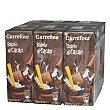 Batido de cacao Pack de 6 briks de 200 ml Carrefour