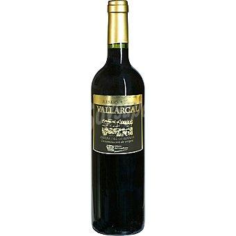 Vallarcal Vino tinto reserva D.O. Ribera del Guadiana Botella 75 cl
