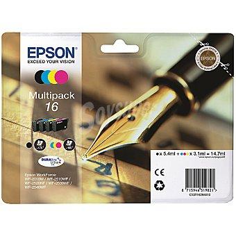 Epson Nº 16 cartucho de tinta multipack cuatricolor