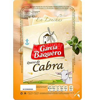 García Baquero Queso lonchas cabra 125 G