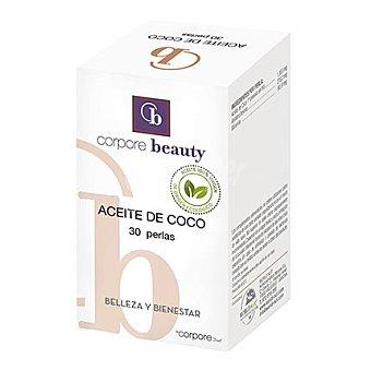 Corpore Beauty Aceite de coco perlas 30 ud