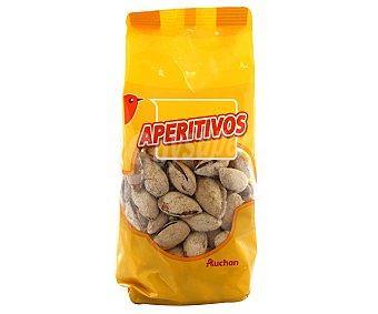 Auchan Almendra con cáscara tostada, bolsa 150 gramos