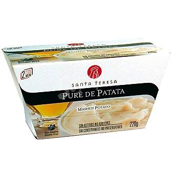 Santa Teresa Puré de patata refrigerado Tarrina 220 g