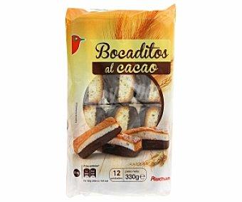 Auchan Bocaditos al cacao 330 Gramos