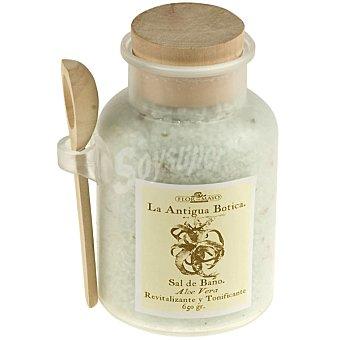 FLOR DE MAYO La Antigua Botica Sales de baño Aloe Vera revitalizante y tonificante Frasco 650 g
