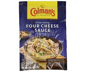 Colmans Salsa mix four cheese 35 GR