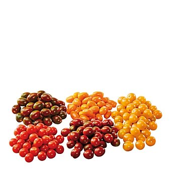 Tomate cherry pera a granel Bandeja de 1000 g peso aprox.