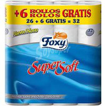 FOXY Super Soft Higienico Paquete 26+6 rollos