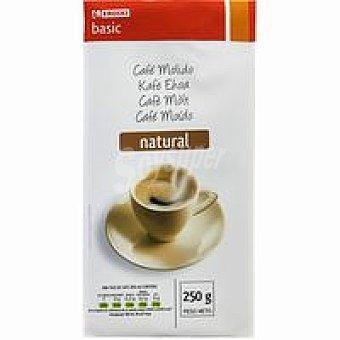 Eroski Basic Café molido natural Paquete 250 g