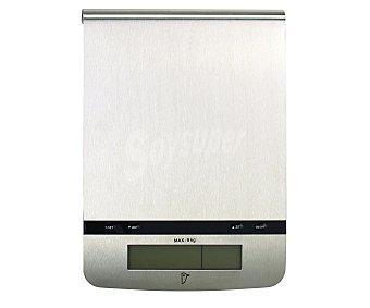 Auchan Balanza de cocina electrónica de color blanco 1 Unidad