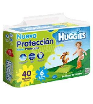 Huggies Pañal Mono Talla 6 (17-28kg) 40 ud