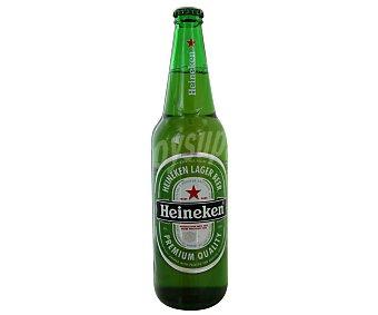 Heineken Cerveza premium quality Botella 650 ml