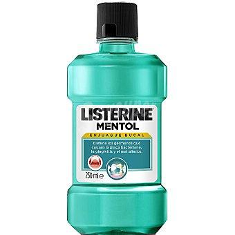 Listerine Enjuague bucal mentol Botella 250 ml