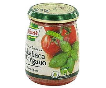 Knorr Salsa Tomate Con Albahaca y Orégano Tarro de 260 Gramos