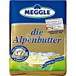 Mantequilla alemana Die Alpenbutter envase 125 g MEGGLE