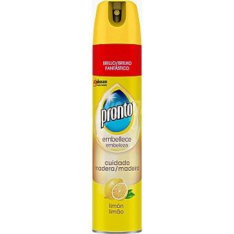 Pronto Limpiamuebles para madera aroma limón Pronto 300 ml