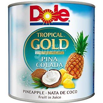 DOLE Gold mix de frutas tropicales con piña y nata de coco lata 263 g neto... Lata 263 g neto escurrido