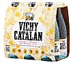 Agua mineral con gas Botella de 25 centilitros pack de 6 Vichy Catalán