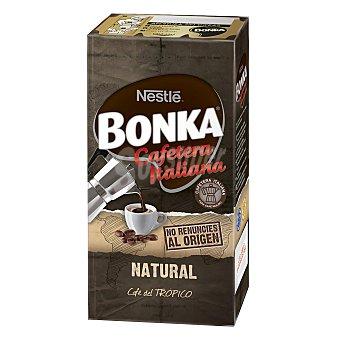 BONKA Cafe natural molido estilo italiano  paquete 250 g