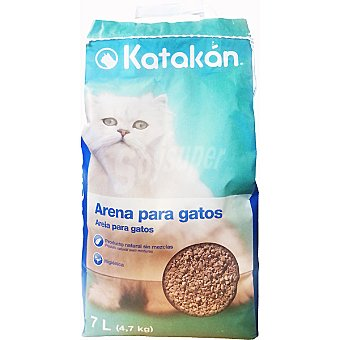 KATAKÁN Arena absorbente para gatos Bolsa de 7 L