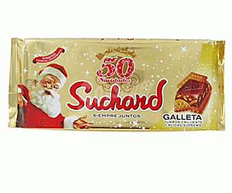 Suchard Turrón Chocolate Crujiente Galleta 300 Gramos