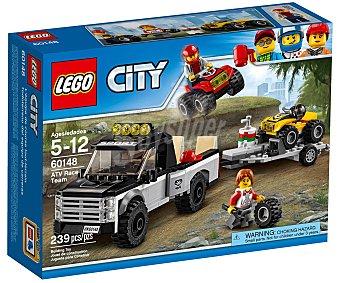 LEGO City Juego de construcciones con 239 piezas Todoterreno del equipo de carreras, City 60148 lego