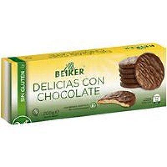BEIKER Delicias con chocolate 200 GR
