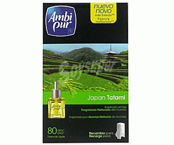Ambipur Recambio Ambientador Aparato Eléctrico Japan Tatami 21,5ml