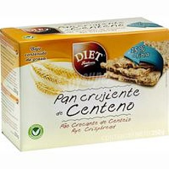Pagesa Pan crujiente de centeno Paquete 250 g