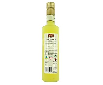 SAPORI REGIONI Licor de limoncello Botella de 50 centilitros