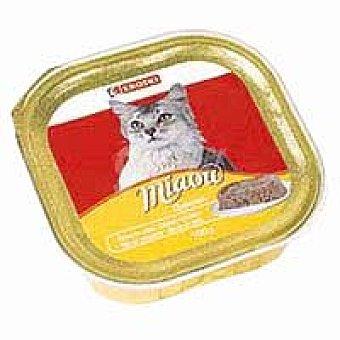 Eroski Delicias de pollo Miaow Tarrina 100 g