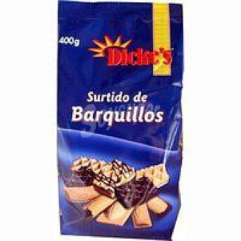 DICKE`S Barquillo surtido Paquete 400 g