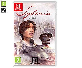 MICROIDS Syberia Switch Videojuego Syberia para Nintendo Switch. Género: Aventura. pegi: + 7