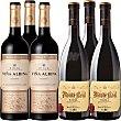 Vino tinto reserva 3 botellas de 75 cl + Viña Albina vino tinto reserva D.O. Rioja 3 botellas 75 cl 3 botellas de 75 cl Monte Real