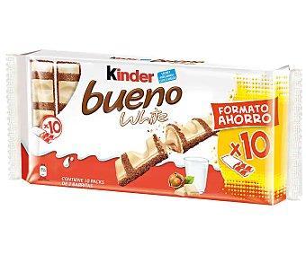 Kinder Bueno Barritas chocolate white Envase 10 u x 40 g - 400 g