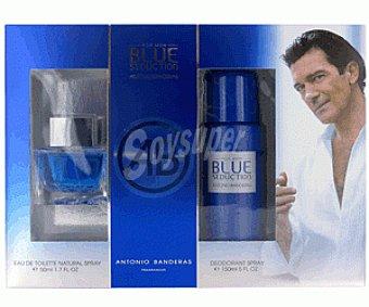 Blue Seduction Estuche Colonia Hombre + Desodorante Spray 1u