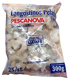 Pescanova Langostino congelado crudo Caja 300 g
