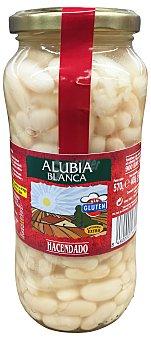 Hacendado Alubia cocida verdura Tarro 420 g peso escurrido