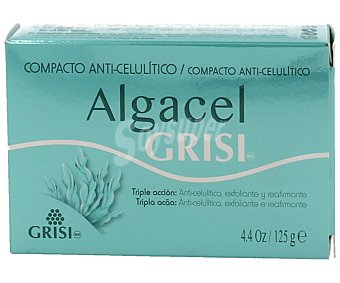 ALGACEL Anticelulítico compacto de triple acción (reduce la celulitis, exfolia y reafirma 125 g