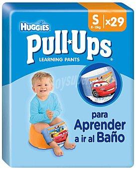 HUGGIES PULL UPS Pañal niño Talla 4 Paquete 29 unid