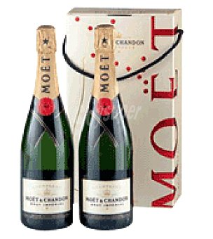 Moët & Chandon Estuche 2 botellas Champagne 75 cl