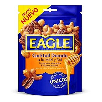 Eagle Cóctel de frutos secos fritos con miel Bolsa 75 g