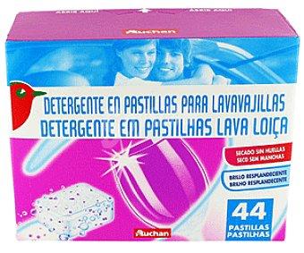 Auchan Detergente Lavavajillas Pastillas Lavavajillas 44p