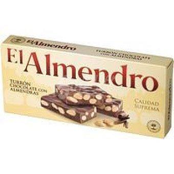 El Almendro Turrón de chocolate con almendras Caja 250 g