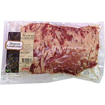 DEHESA DE GUADAMORA Presas frescas de cerdo ibérico peso aproximado bandeja 400 g