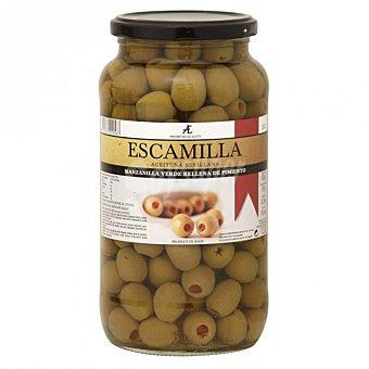 Escamilla Aceitunas manzanilla rellenas de pimiento  Tarro 550 g