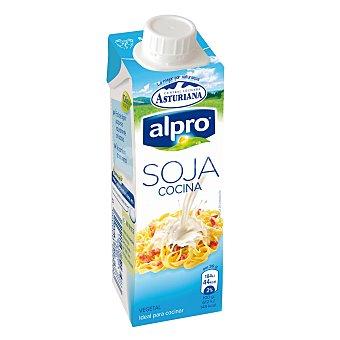 Alpro Asturiana Soja para cocinar 100% vegetal Envase 250 ml
