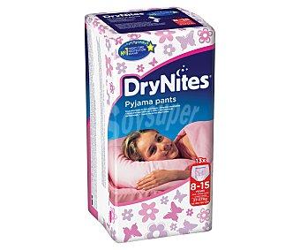 Dry Nites Braguitas Absorbentes Niña Talla 8-15 años (25-57 Kg) 13 ud