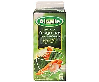 Alvalle Crema de Verduras,, 750 mililitros
